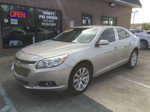 2014 Chevrolet Malibu for sale at Bankruptcy Car Financing in Norfolk VA
