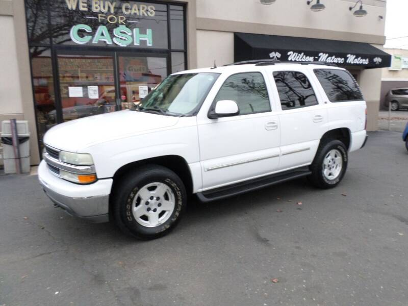2004 Chevrolet Tahoe for sale at Wilson-Maturo Motors in New Haven Ct CT