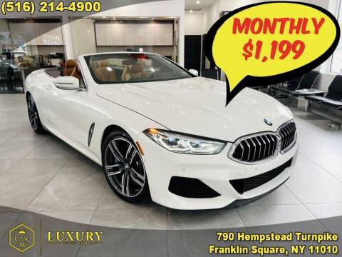 2019 BMW 8 Series for sale at LUXURY MOTOR CLUB in Franklin Square NY