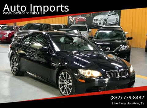 2009 BMW M3 for sale at Auto Imports in Houston TX