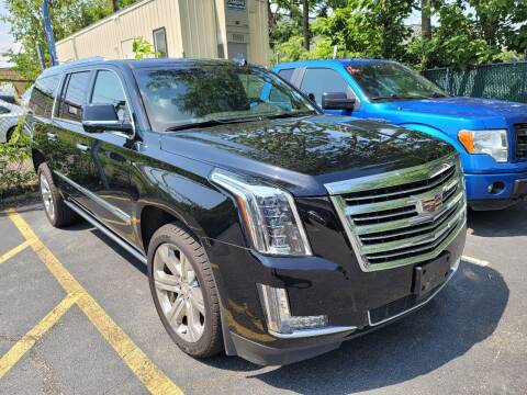 2018 Cadillac Escalade ESV for sale at AW Auto & Truck Wholesalers  Inc. in Hasbrouck Heights NJ