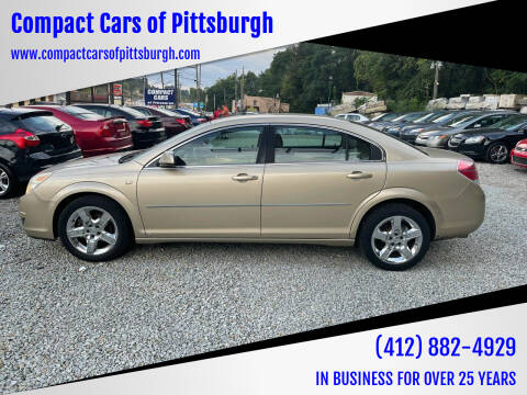 2008 Saturn Aura for sale at Compact Cars of Pittsburgh in Pittsburgh PA