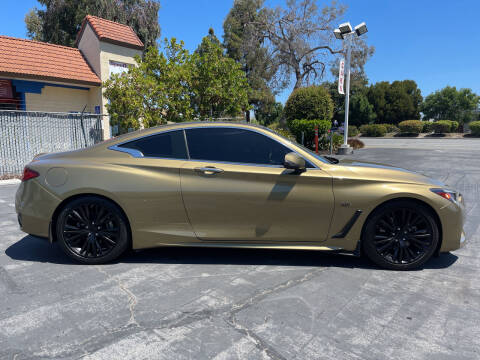 2018 Infiniti Q60 for sale at BSL Bay Sport & Luxury in Redwood City CA