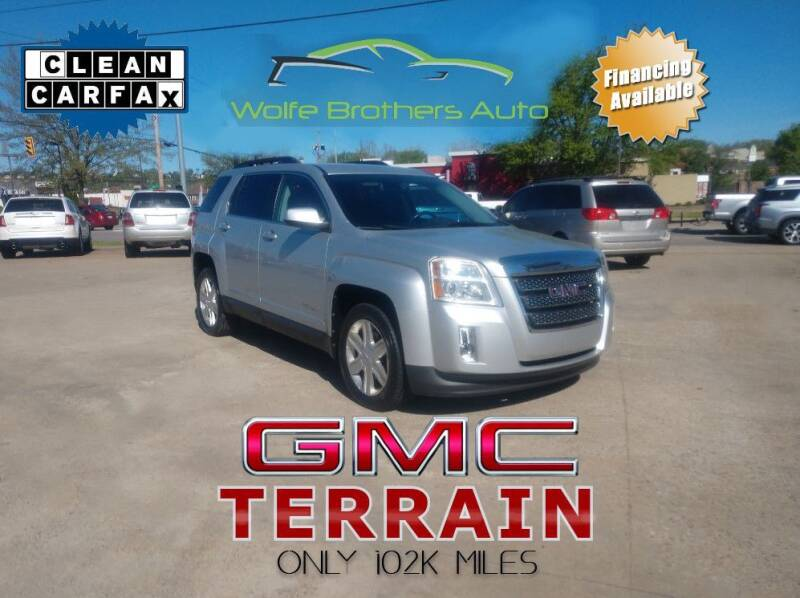 2011 GMC Terrain for sale at Wolfe Brothers Auto in Marietta OH