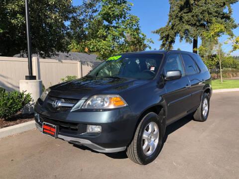 2005 Acura MDX for sale at Matthews Motors LLC in Auburn WA