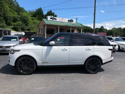 2016 Land Rover Range Rover for sale at Luxury Auto Innovations in Flowery Branch GA