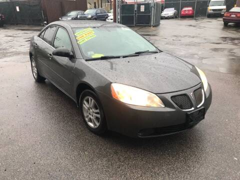 2005 Pontiac G6 for sale at Adams Street Motor Company LLC in Dorchester MA
