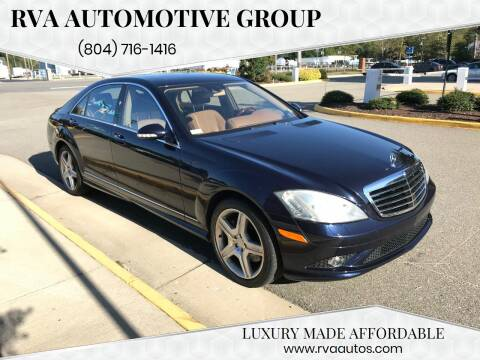 2008 Mercedes-Benz S-Class for sale at RVA Automotive Group in North Chesterfield VA
