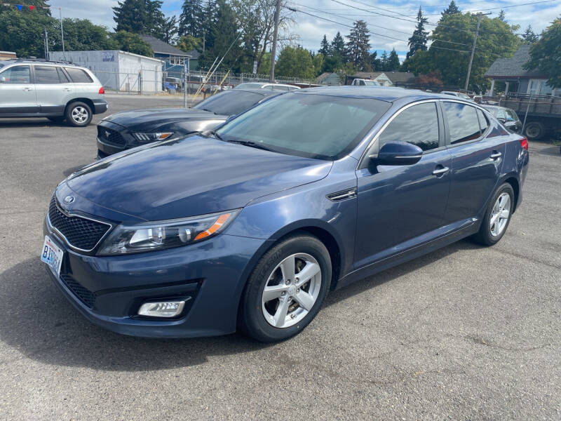 2015 Kia Optima for sale at JZ Auto Sales in Happy Valley OR