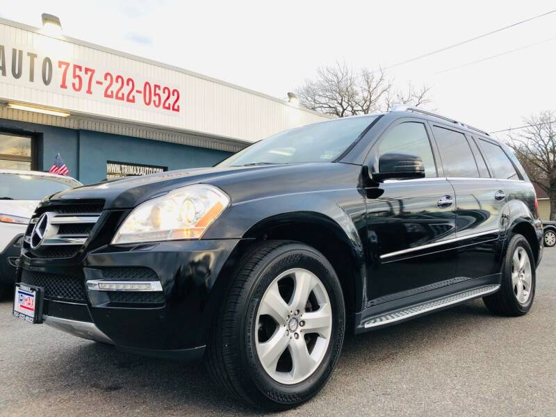 2012 Mercedes-Benz GL-Class for sale at Trimax Auto Group in Norfolk VA