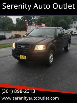 2004 Ford F-150 for sale at SERENITY AUTO OUTLET in Frederick MD