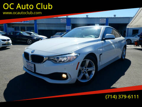 2014 BMW 4 Series for sale at OC Auto Club in Midway City CA