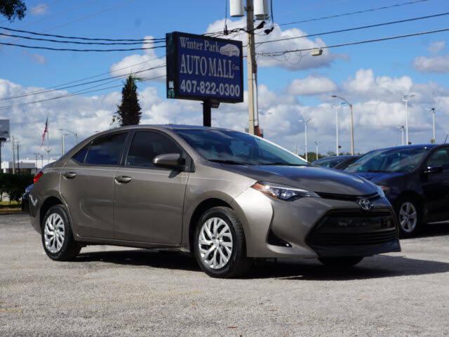 2017 Toyota Corolla for sale at Winter Park Auto Mall in Orlando FL