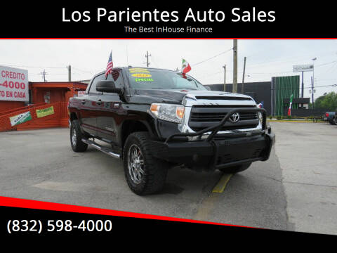2015 Toyota Tundra for sale at Los Parientes Auto Sales in Houston TX