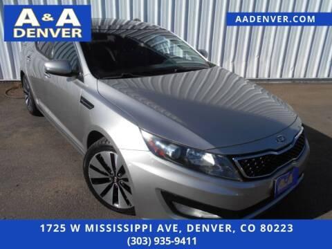 2011 Kia Optima for sale at A & A AUTO LLC in Denver CO