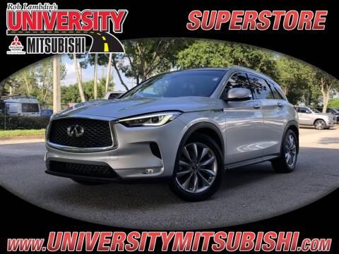 2020 Infiniti QX50 for sale at University Mitsubishi in Davie FL