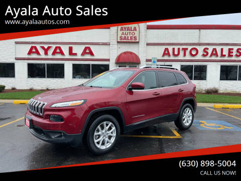2016 Jeep Cherokee for sale at Ayala Auto Sales in Aurora IL