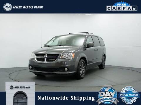 2017 Dodge Grand Caravan for sale at INDY AUTO MAN in Indianapolis IN