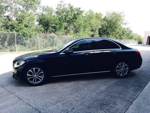 2016 Mercedes-Benz C-Class for sale at 57 Auto Sales in San Antonio TX