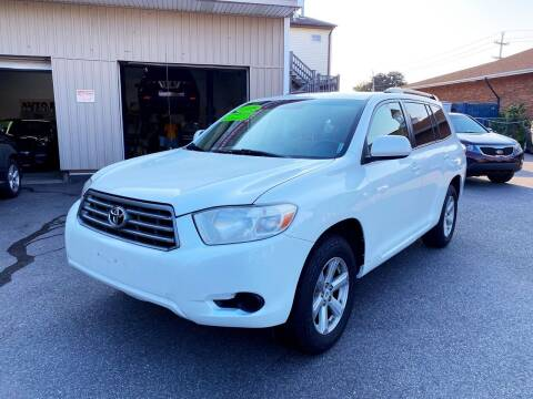 2008 Toyota Highlander for sale at Dijie Auto Sale and Service Co. in Johnston RI