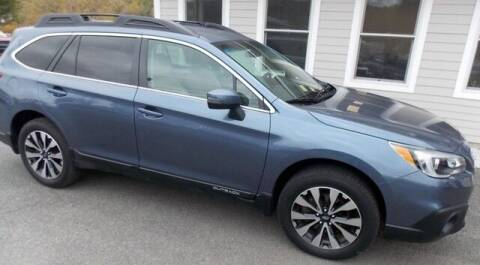2016 Subaru Outback for sale at Bachettis Auto Sales in Sheffield MA