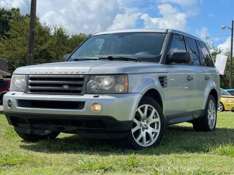 2009 Land Rover Range Rover Sport for sale at Texas Select Autos LLC in Mckinney TX
