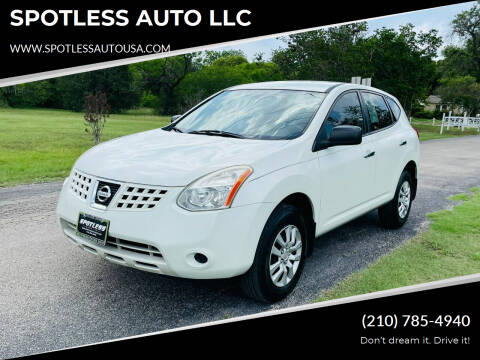 2010 Nissan Rogue for sale at SPOTLESS AUTO LLC in San Antonio TX