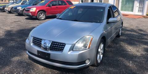 2005 Nissan Maxima for sale at AUTO OUTLET in Taunton MA