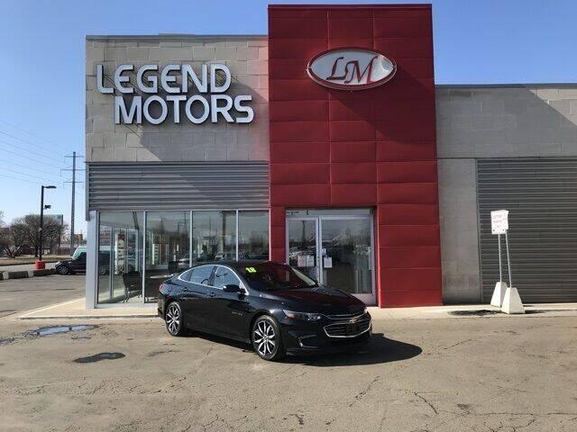 2018 Chevrolet Malibu for sale at Legend Motors of Waterford - Legend Motors of Ferndale in Ferndale MI