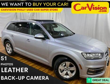 2017 Audi Q7 for sale at Car Vision Mitsubishi Norristown - Car Vision Philly Used Car SuperStore in Philadelphia PA