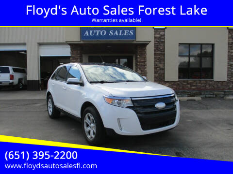 2012 Ford Edge for sale at Floyd's Auto Sales Forest Lake in Forest Lake MN