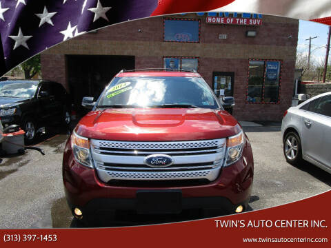 2014 Ford Explorer for sale at Twin's Auto Center Inc. in Detroit MI