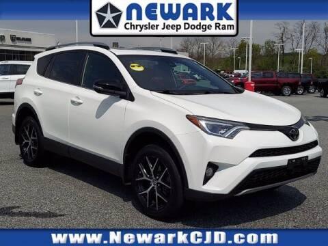 2017 Toyota RAV4 for sale at NEWARK CHRYSLER JEEP DODGE in Newark DE