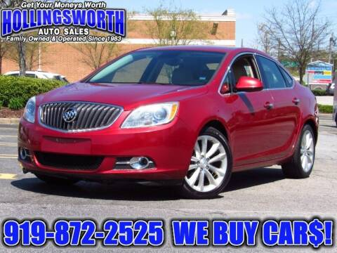 2014 Buick Verano for sale at Hollingsworth Auto Sales in Raleigh NC