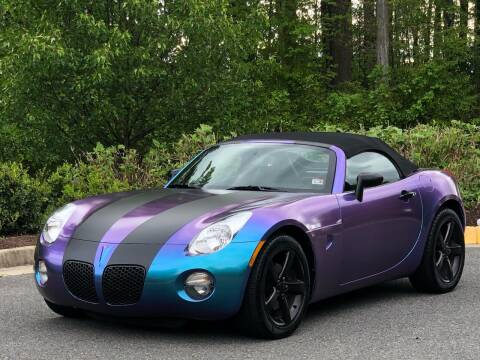 2008 Pontiac Solstice for sale at Diamond Automobile Exchange in Woodbridge VA