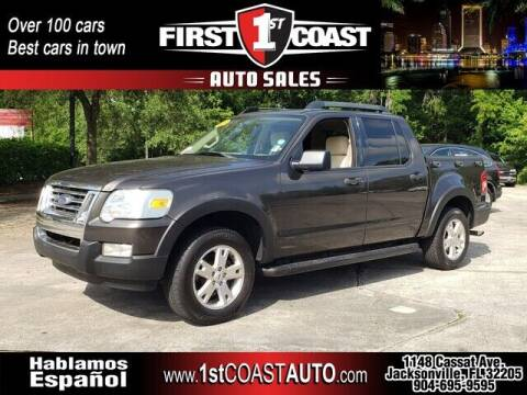 2007 Ford Explorer Sport Trac for sale at 1st Coast Auto -Cassat Avenue in Jacksonville FL