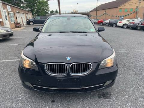 2008 BMW 5 Series for sale at YASSE'S AUTO SALES in Steelton PA