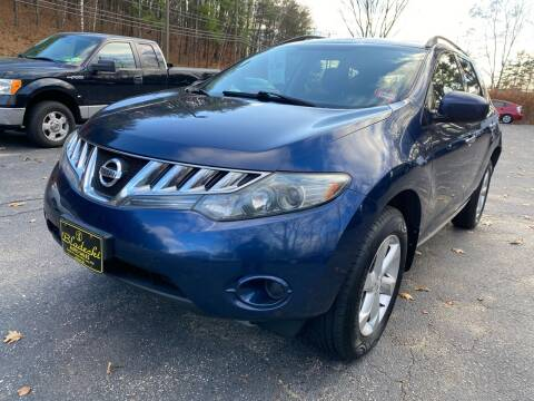 2009 Nissan Murano for sale at Bladecki Auto in Belmont NH