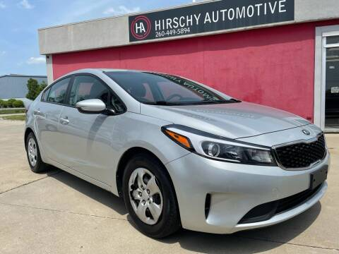 2017 Kia Forte for sale at Hirschy Automotive in Fort Wayne IN