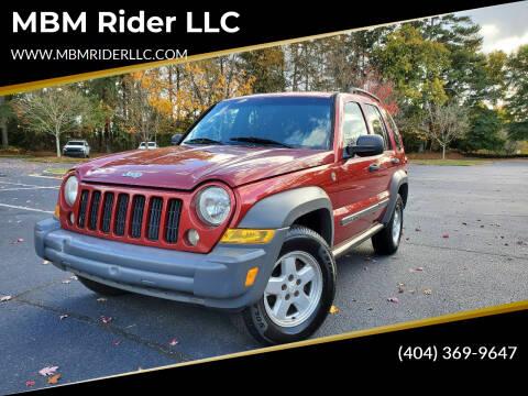 2005 Jeep Liberty for sale at MBM Rider LLC in Alpharetta GA