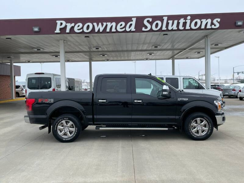 2018 Ford F-150 for sale at Preowned Solutions in Urbandale IA