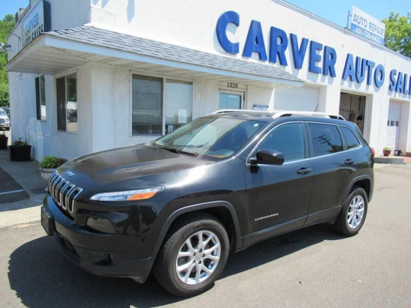 2015 Jeep Cherokee for sale at Carver Auto Sales in Saint Paul MN
