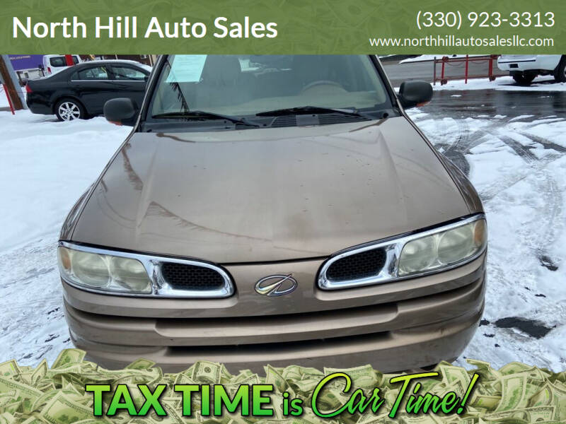 2002 Oldsmobile Bravada for sale at North Hill Auto Sales in Akron OH