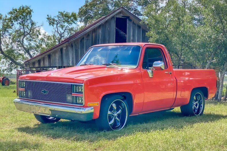 1984 Chevrolet C/K 10 Series for sale at STREET DREAMS TEXAS in Fredericksburg TX