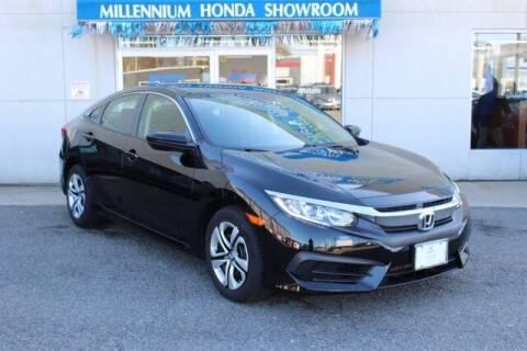 2017 Honda Civic for sale at MILLENNIUM HONDA in Hempstead NY
