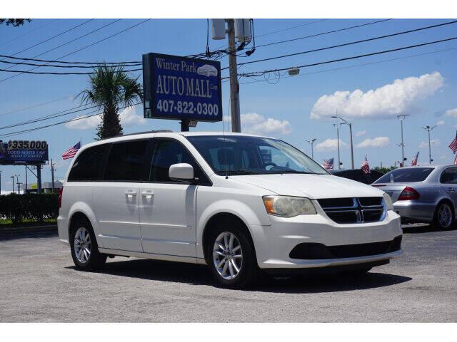 2013 Dodge Grand Caravan for sale at Winter Park Auto Mall in Orlando FL