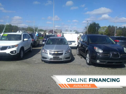 2014 Chevrolet Cruze for sale at Marino's Auto Sales in Laurel DE