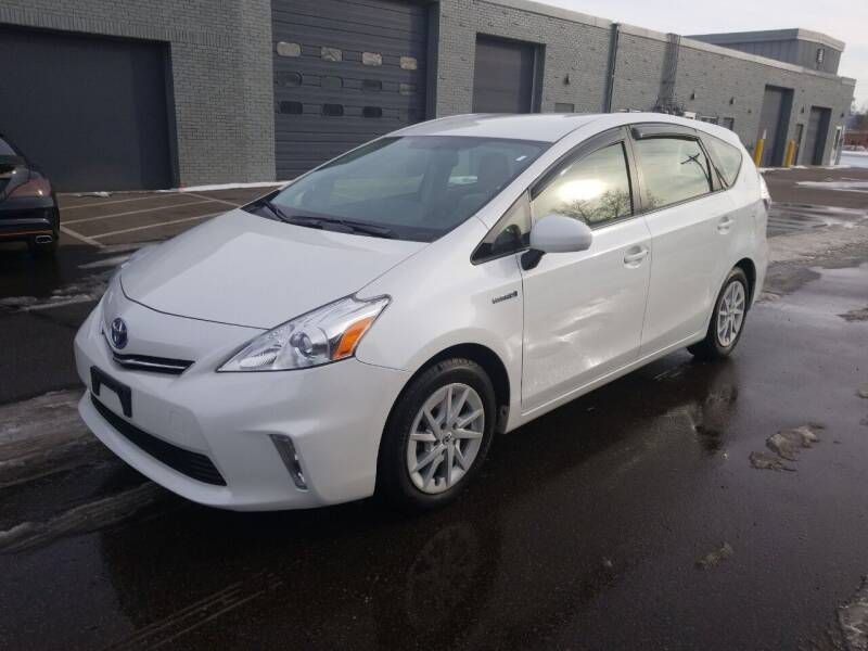 2012 Toyota Prius v for sale at The Car Buying Center in St Louis Park MN