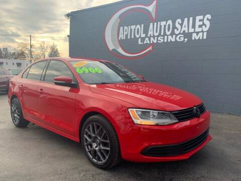 2012 Volkswagen Jetta for sale at Capitol Auto Sales in Lansing MI