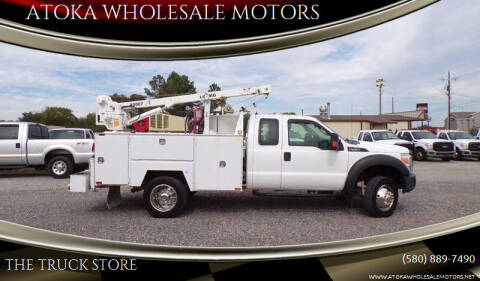 2015 Ford F-450 Super Duty for sale at ATOKA WHOLESALE MOTORS in Atoka OK